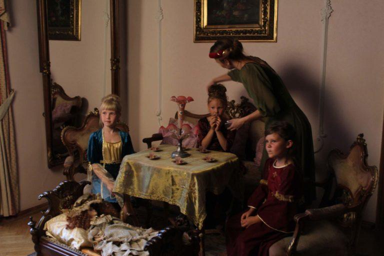 Zámek Dětěnice - focení Hašle